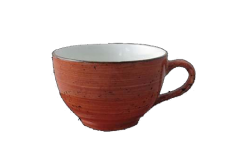 Rustics Terracotta Taza Cafe Capuchino