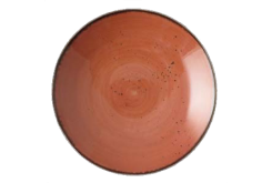 Rustics Terracotta Bowl Coupe 25 cm
